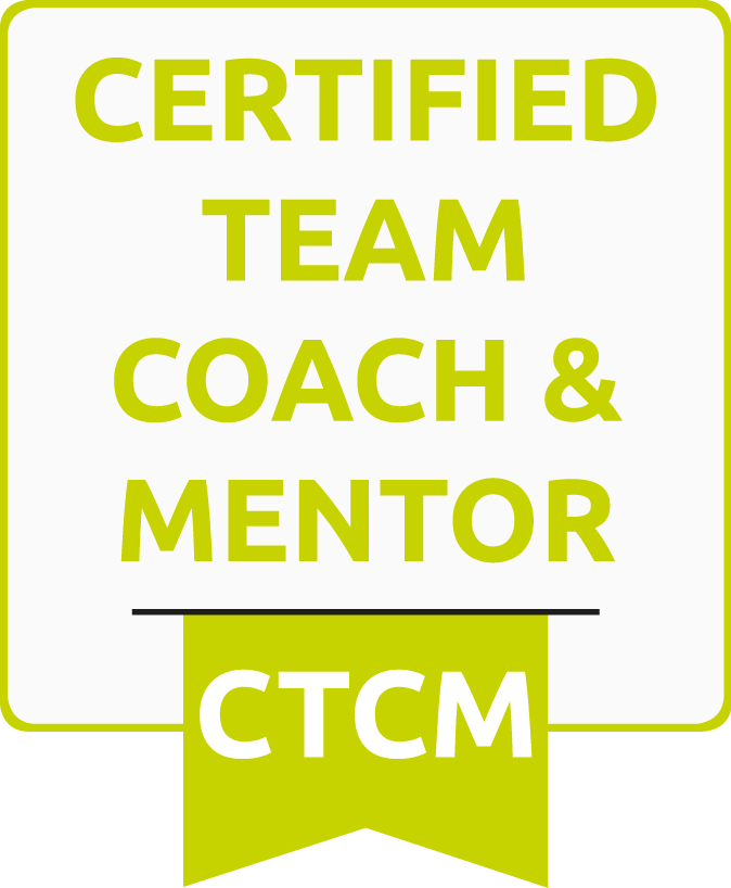 Certified Team Coach and Mentor